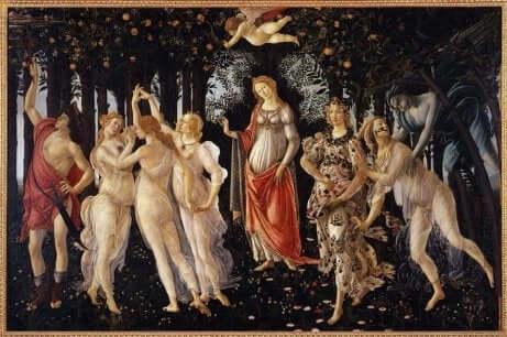 Le Printemps de Sandro Botticelli