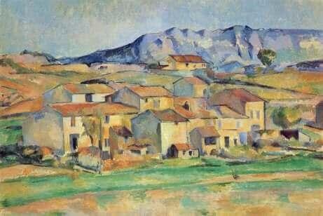 Une oeuvre de Paul Cézanne.