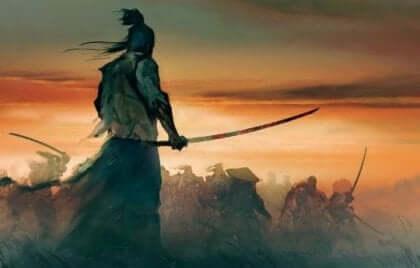 Le samouraï et l'histoire sur le pouvoir de l'esprit