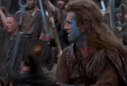 Wallace dans Braveheart