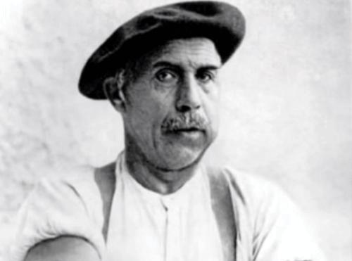 Un portrait d'Adolf Wölfli.