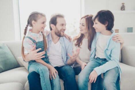 L'amour dans la famille est essentiel.