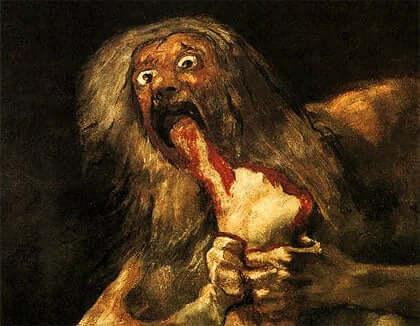 Les tableaux noirs de Goya.