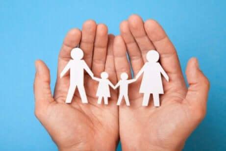 Les mythes au sein d'une famille.