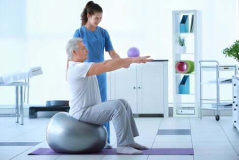 Les physiothérapeutes font partie des professions qui auront du succès dans 5 ans.