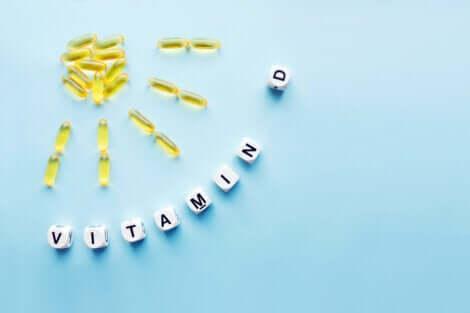 Une carence en vitamine D.
