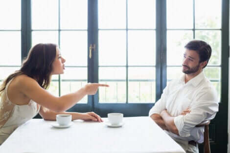 L'hostilité dans un couple.