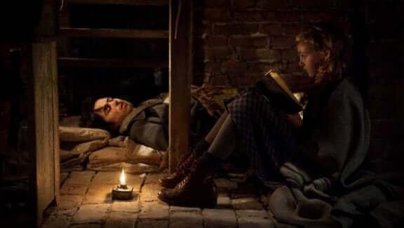 """Cette image est issue de """"La voleuse de livres""""."""