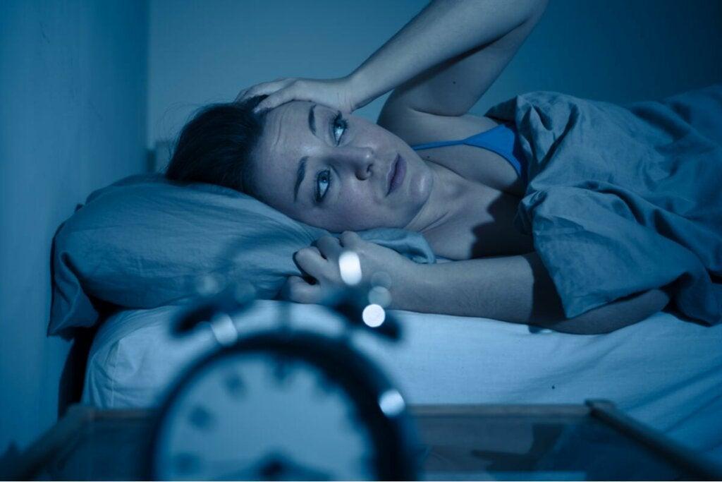 L'anxiété s'aggrave la nuit.