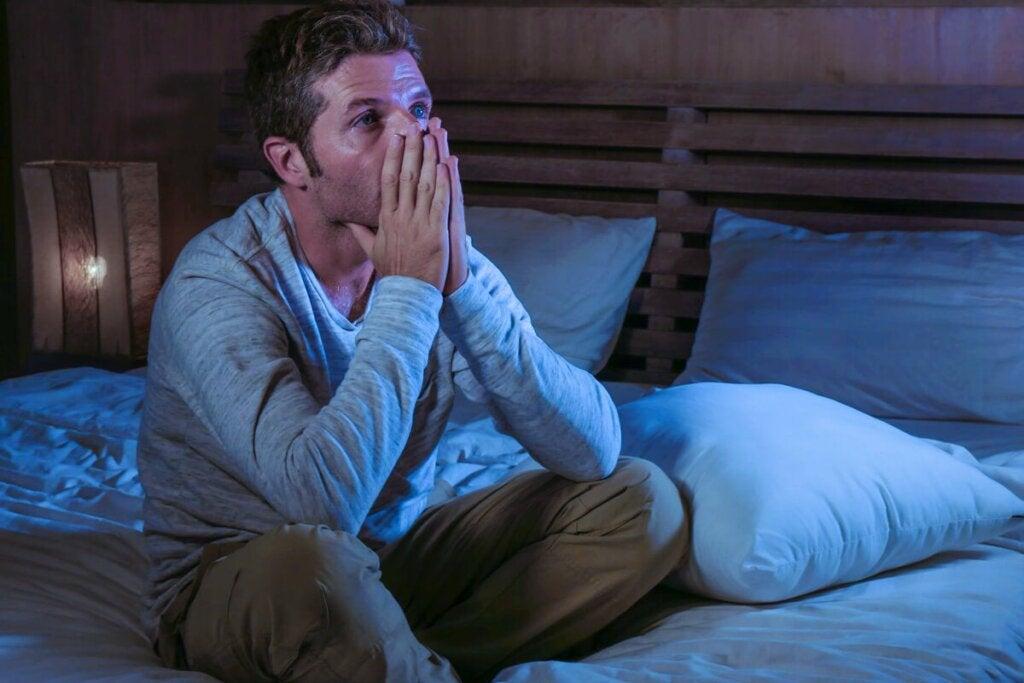Les symptômes de l'anxiété s'aggravent pendant la nuit.