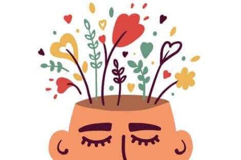 Une illustration représentant un pot de fleurs.