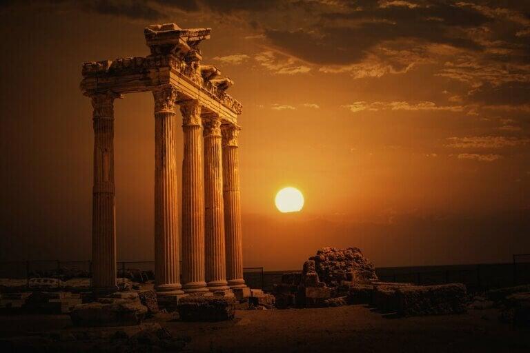 Il s'agit d'un temple grec.