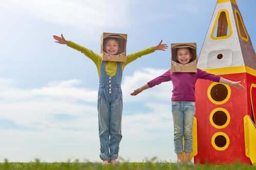 Déguisements des enfants : les bienfaits psychologiques