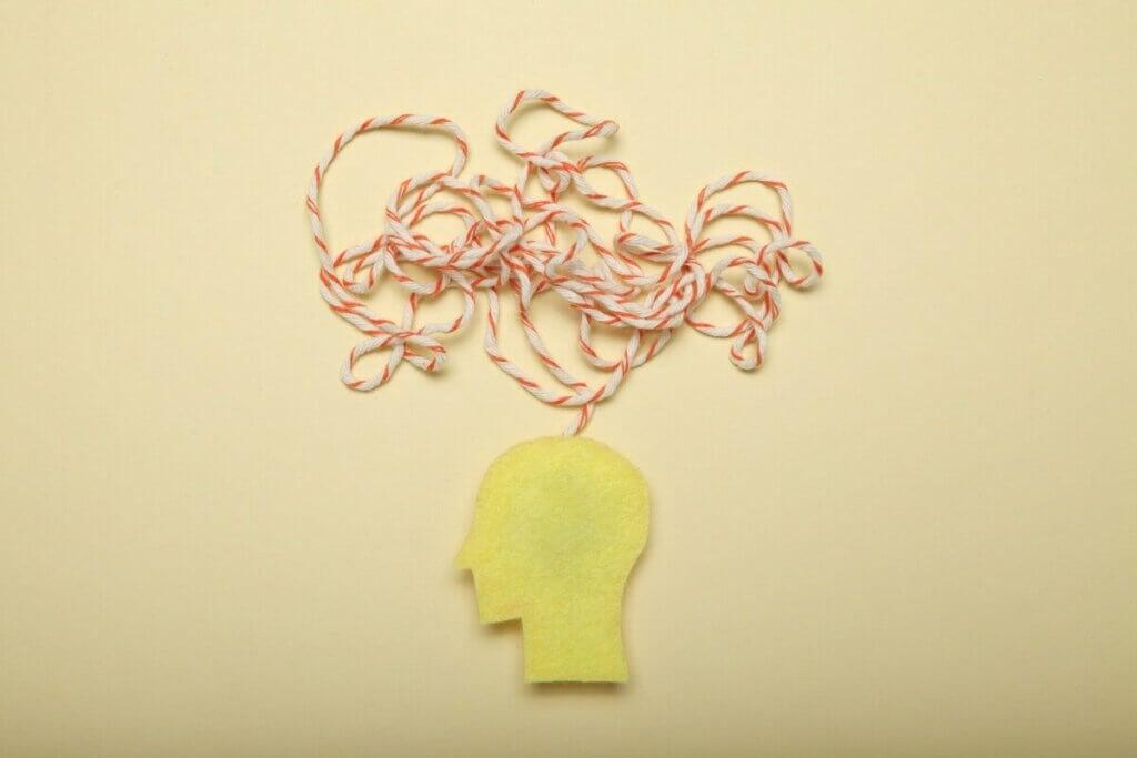 Une illustration qui représente la fuite des idées.