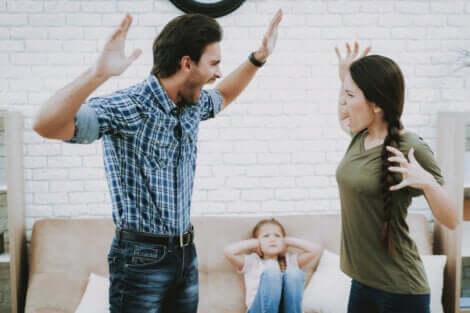 La violences dans les relations de famille.