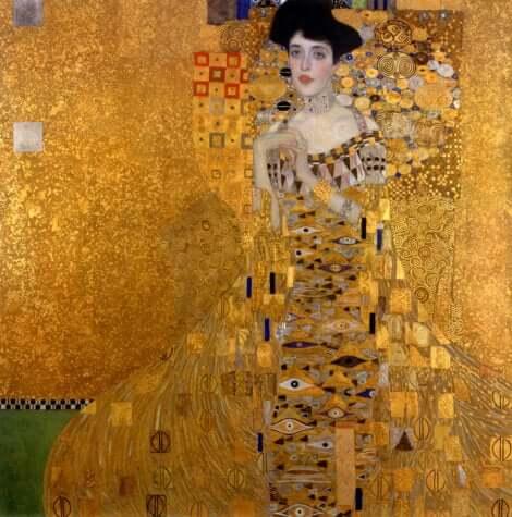 Le portrait d'Adèle de Klimt.