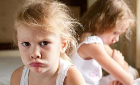 Racines de l'anxiété chez l'enfant.