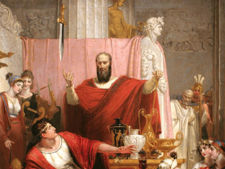Epée de Damoclès : l'origine de cette légende