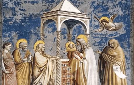 Une peinture de Giotto.