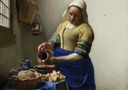 La jeunesse de Vermeer.