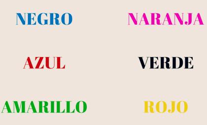 Test de Stroop : un test psychologique basé sur la couleur
