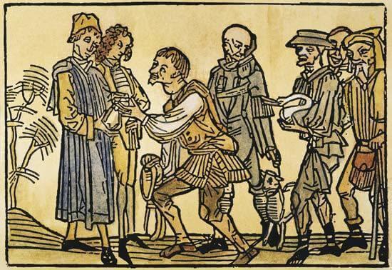 Une illustration du Moyen Âge.