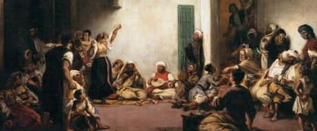 Les oeuvres de Delacroix.