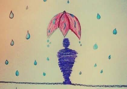 Teste du dessins sous la pluie.