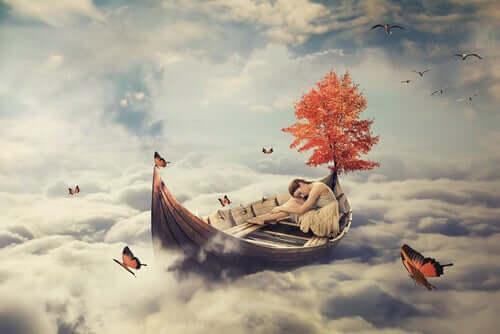 Illustration d'un rêve.