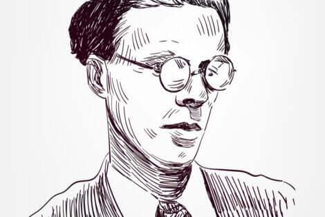 Portrait d'Aldous Huxley.