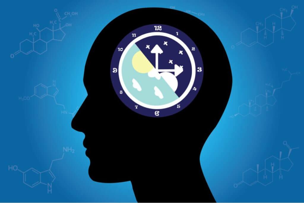 Illustration qui représente une horloge.