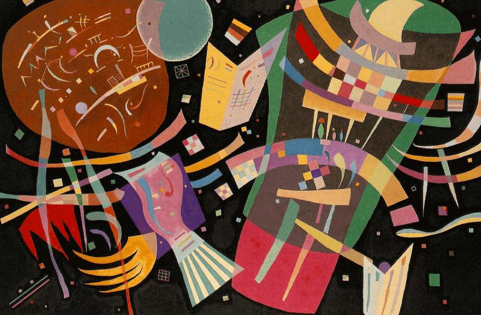 Tableau de Kandinsky.
