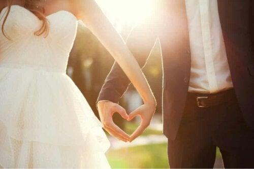 Un couple marié.