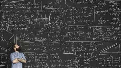 Un tableau avec des formules.