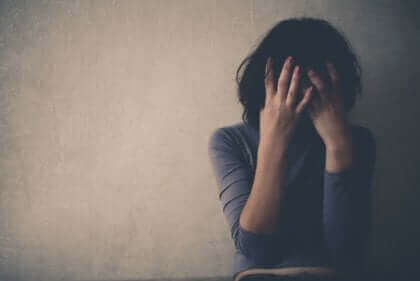 Une femme qui souffre de dépression.