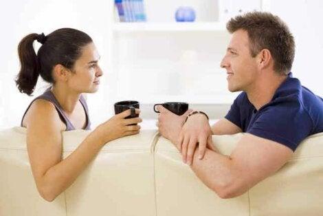 Conversation de couple.