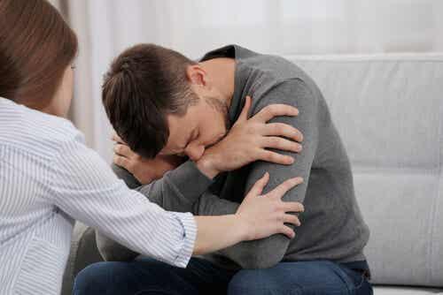 Conjoint souffrant de dépression.