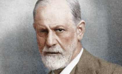 Portrait de Sigmund Freud.