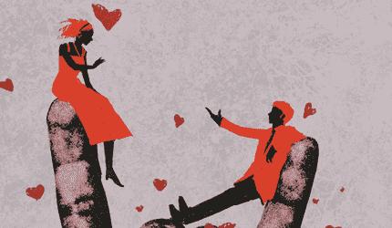 Illustration d'un couple.