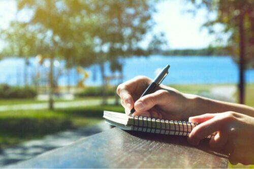 L'écriture améliore notre santé mentale