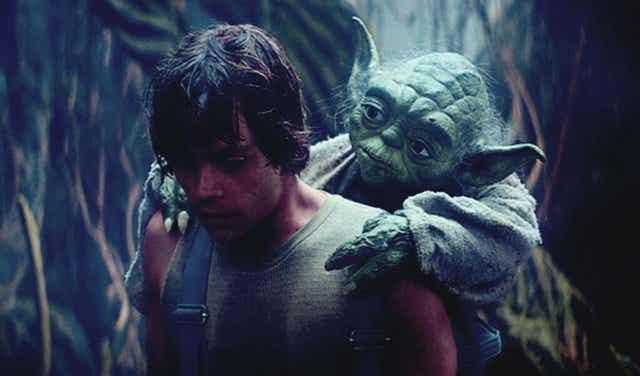 Luke et Yoda